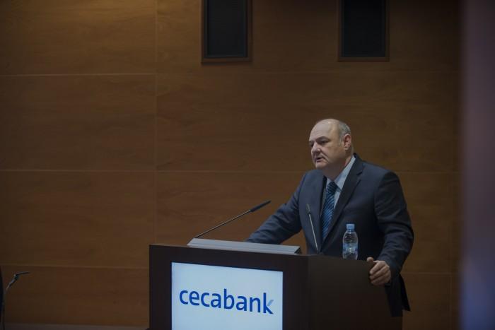 El Director General de Cecabank, José María Méndez, II Jornada de Securities Services de Cecabank